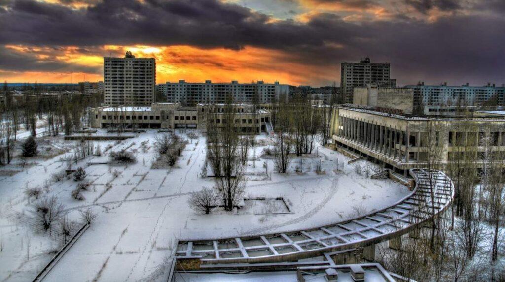 <p>Pripyat, Ukraina. Ett prima exempel på den spöklika stämning som präglar hastigt övergivna platser.</p>