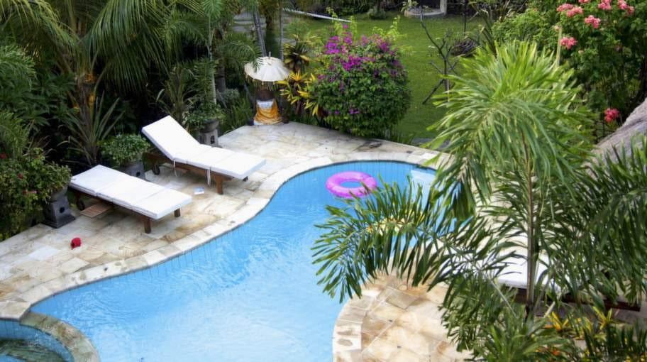 ...också en härlig pool!