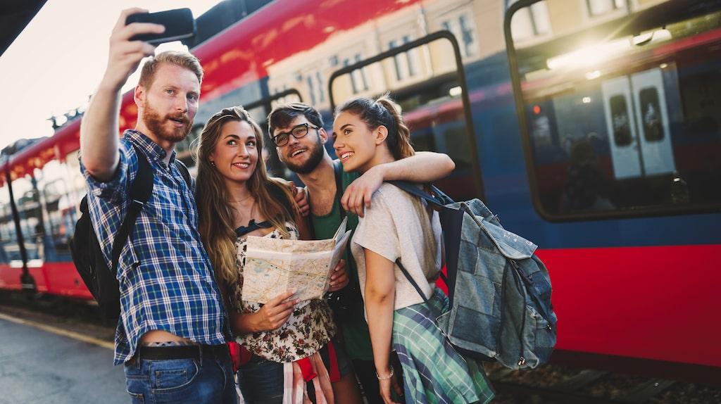 Om man ska tågluffa i Europa kan ett interrailkort vara ett bra alternativ.