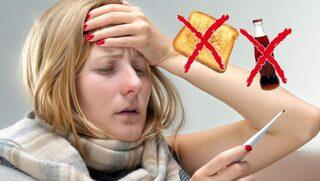 mat när man är förkyld