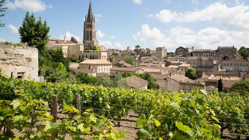 Saint Emilion i Bordeaux.
