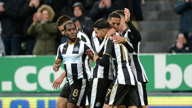 Newcastle tillbaka i premier league