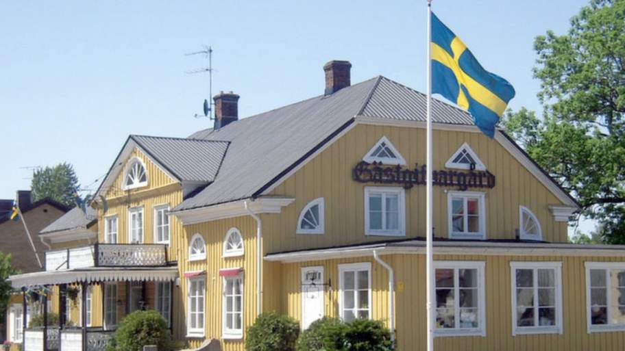 Torups Gästgivaregård i Halland.