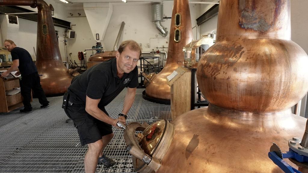 High Coast Distillery i Sörviken gör whisky med vatten från Ångermanälven.