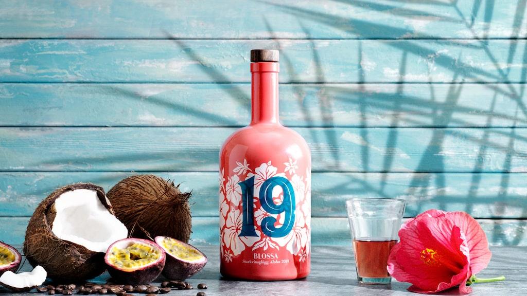 Blossa 19 Aloha har smak av såväl passionsfrukt som kokos, hibiskusblomma och kaffe.
