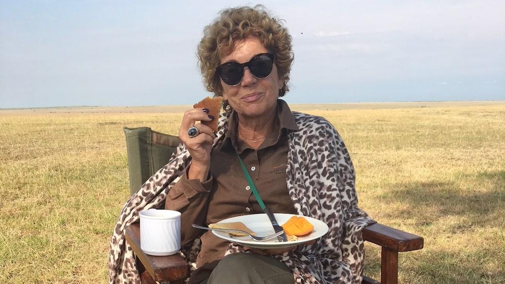 Amelia Adamo har varit på ett tiotal safariresor.