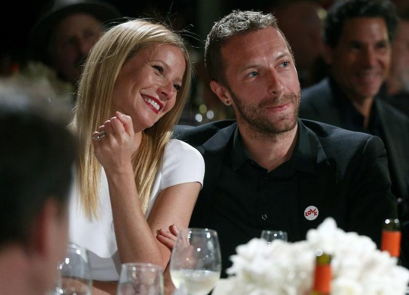 När det begav sig. I dag är Gwyneth och Coldplay-sångaren Chris Martin skilda.