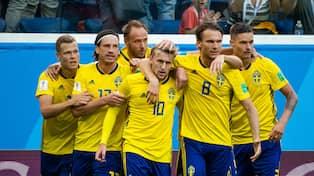 VM 2018. Imponerande för Sverige efter guld av Frankrike 0a732f7b4dac1