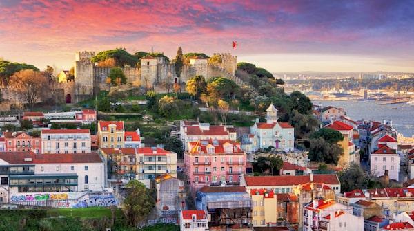 Högt beläget ligger Sao Jorge i Lissabon.
