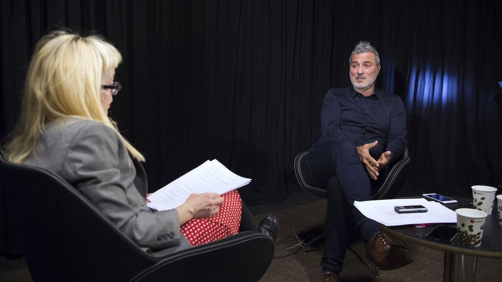 Bild från en tidigare intervju.