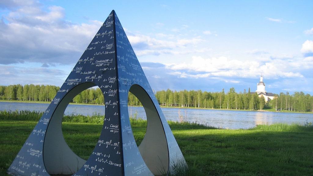 Struves meridianbåge i Lappland.