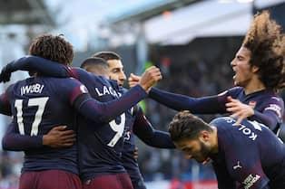 Alex Iwobi firar ett mål för Arsenal. Foto  PROSPORTSIMAGES 6e559f16f79a2