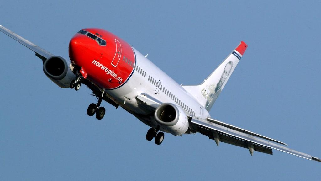 Norwegian hamnar på plats 51 på listan över punktliga flygbolag.
