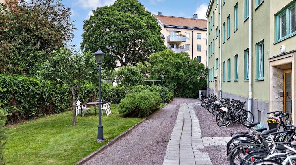 Miniettan som är till salu i Uppsala är bara 12,5 kvadratmeter stor.