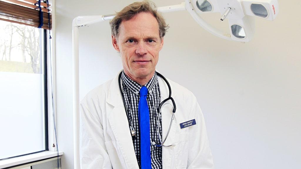 Johan Armfelt är läkare.