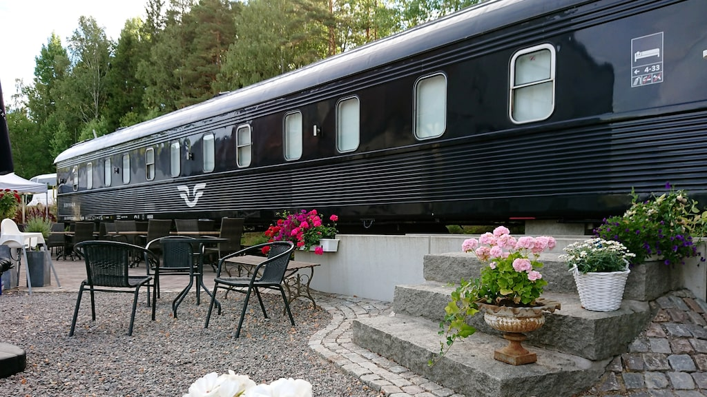 I Sillerud bor man i en klassisk SJ-vagn.