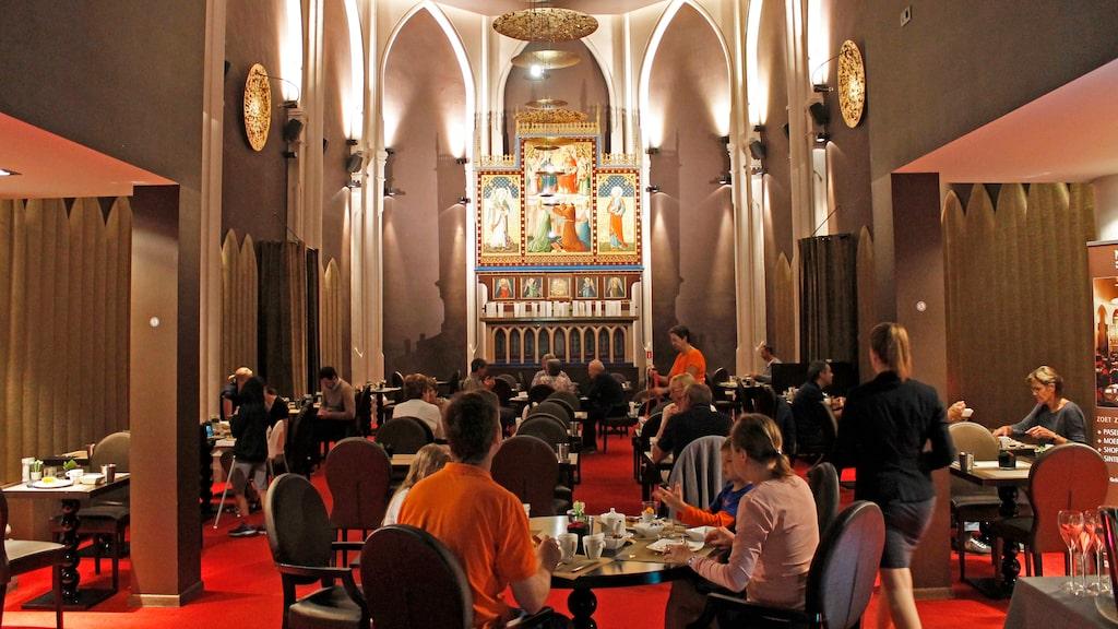 Häftiga Martinís Patershof i Mechelen är en tidigare kyrka som byggts om till hotell.