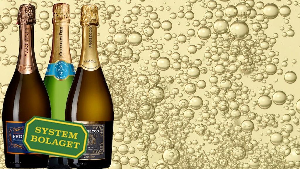 Finns någon av dina favoriter med på topplistan över de mest sålda mousserande vinerna.