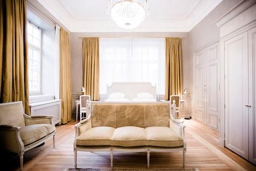 Vacker interiör från Hotel Kungsträdgården.