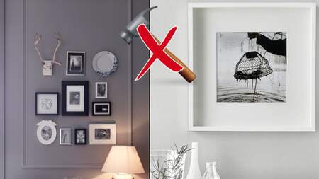 Icke gamla Command – häng upp tavlor utan spik IG-51