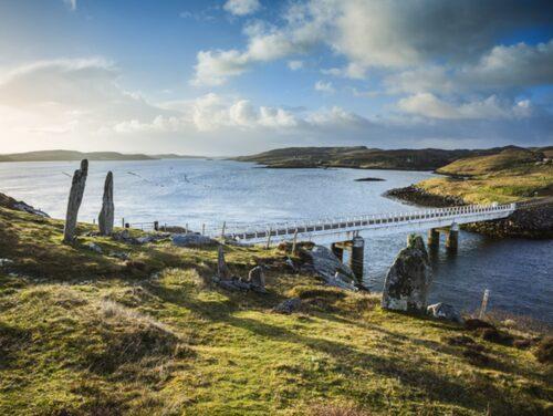 Yttre Hebriderna, Skottland