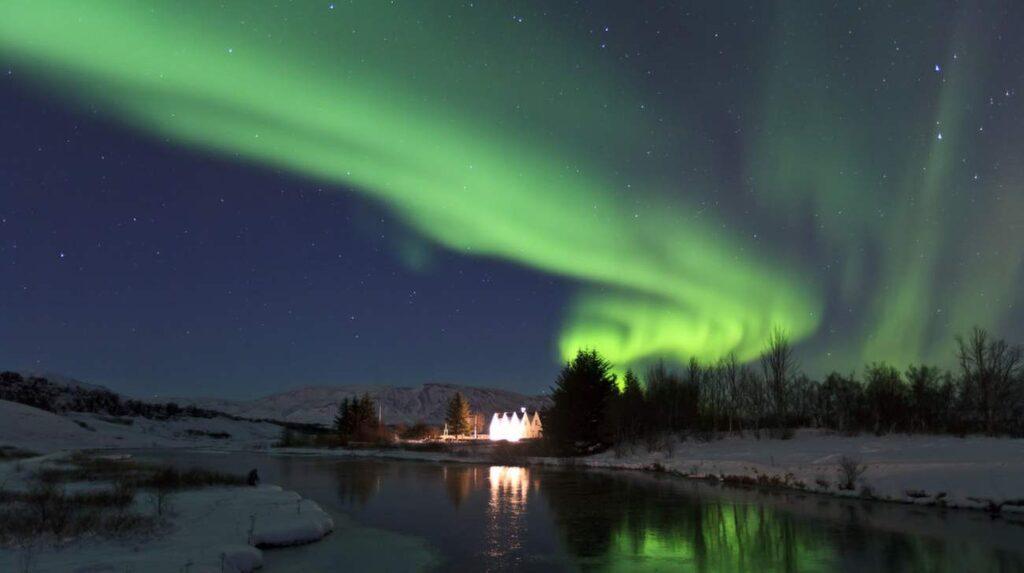 <p>Världsarvet Þingvellir (Tingvalla), där bland annat Game of Thrones spelats in.</p>