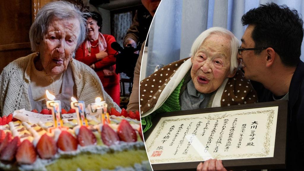 Japanskan Misao Okawa var världens äldsta människa fram till sin död 2015. Numera äger italienskan Emma Morano titeln.