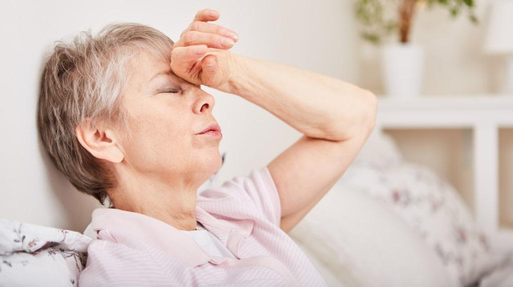 Det är vanligt att känna sig yr och få svimingskänslor när man har lågt blodtryck.