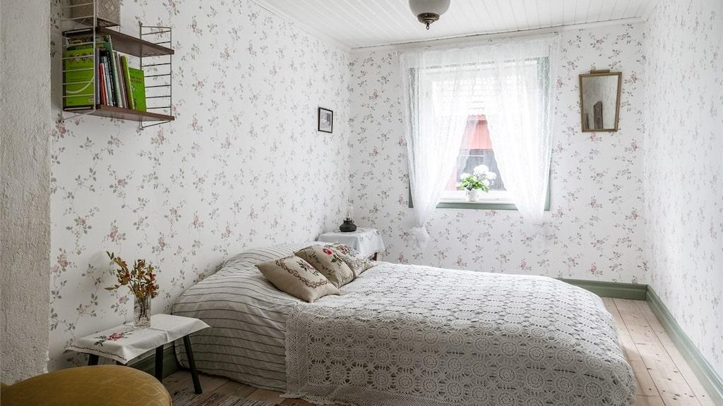 Husets enda sovrum.
