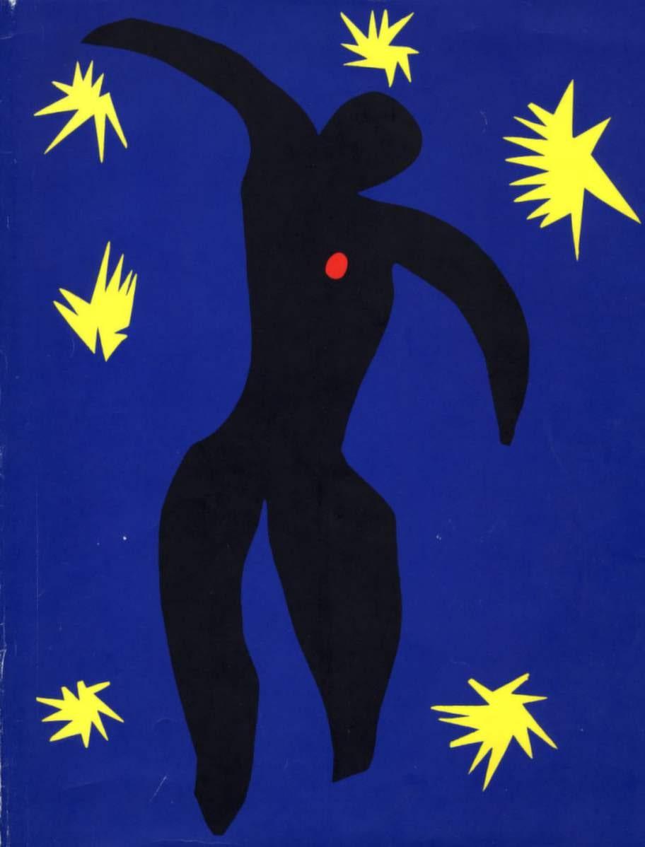 Populärt på väggen var planscher med motiv av Henri Matisse.
