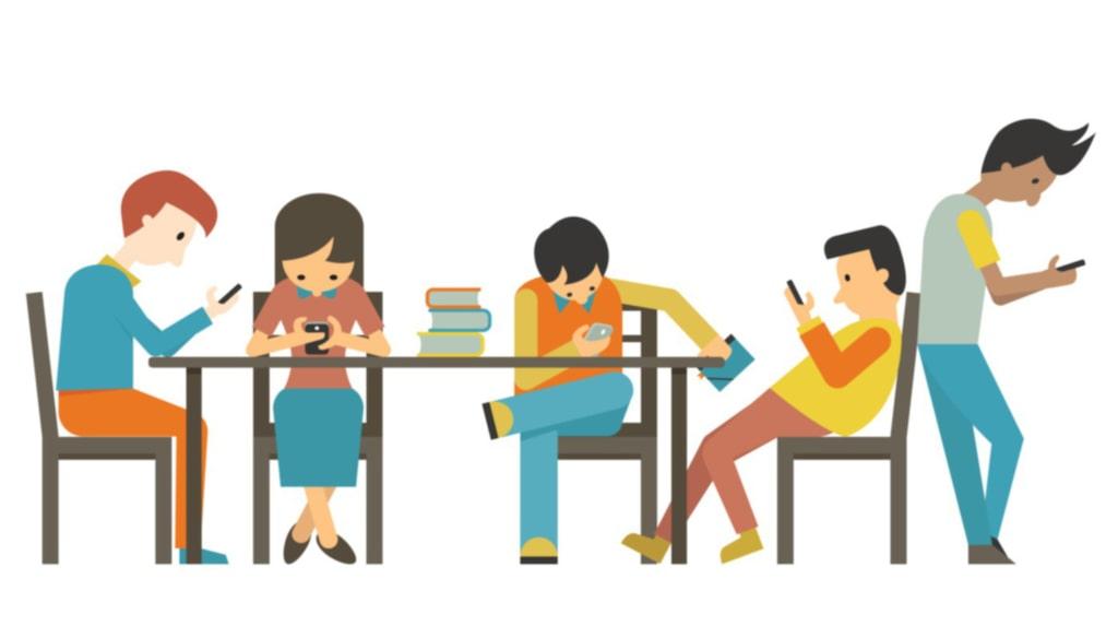 <p>En genomsnittlig person spenderar 4,7 timmar framför sin mobiltelefon - varje dag. Så här påverkas du.<br></p>