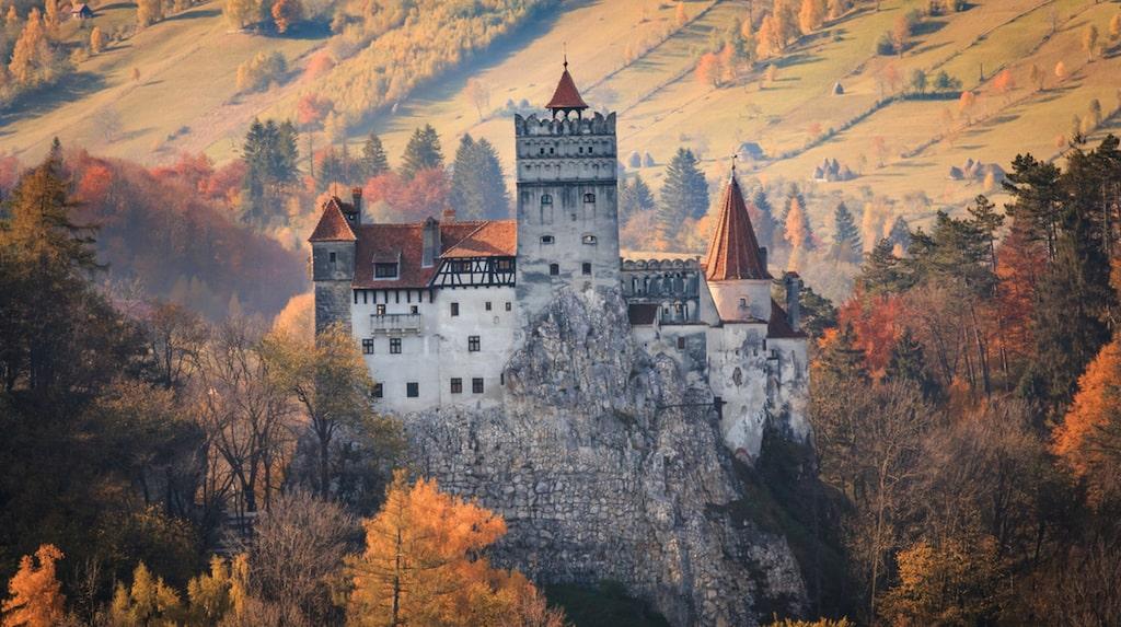 Slottet Bran, Rumänien