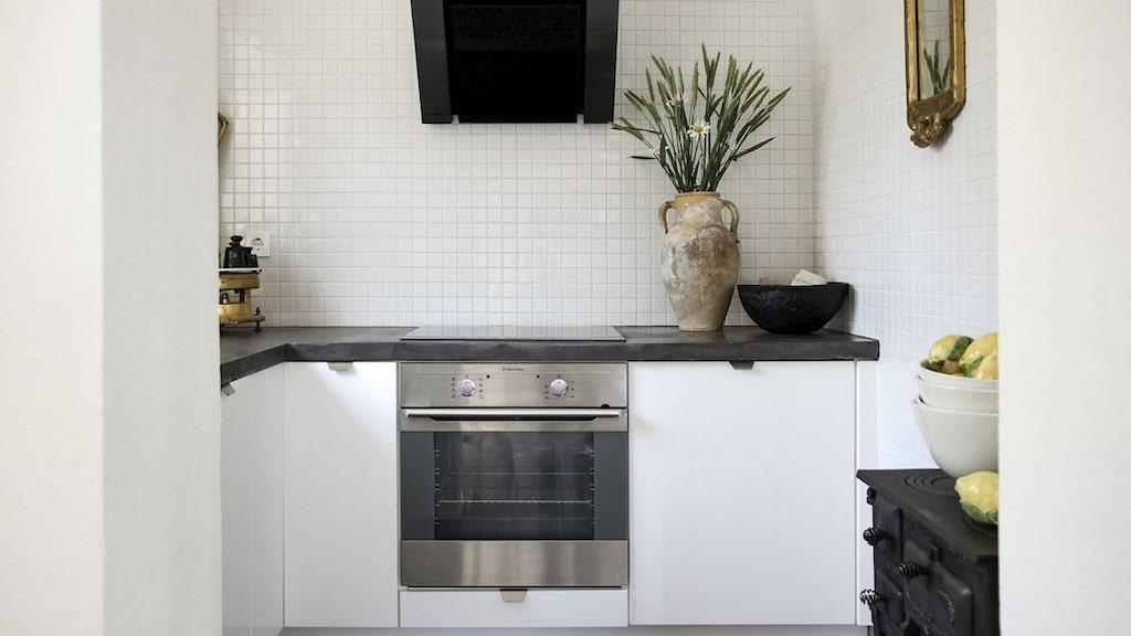 Köket i lilla huset.