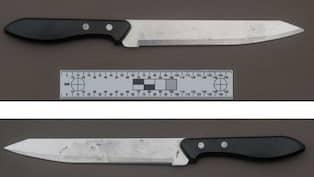 Hotades med kniv fick fly genom sitt fonster