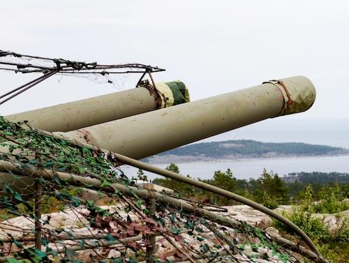 Hemsö fästning är en av Sveriges viktigaste försvarsanläggningar.