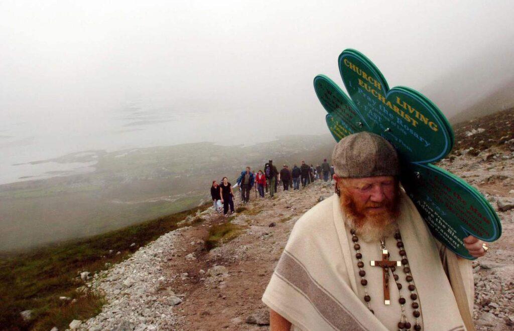 <p>Croagh Patrick, Irland.</p>