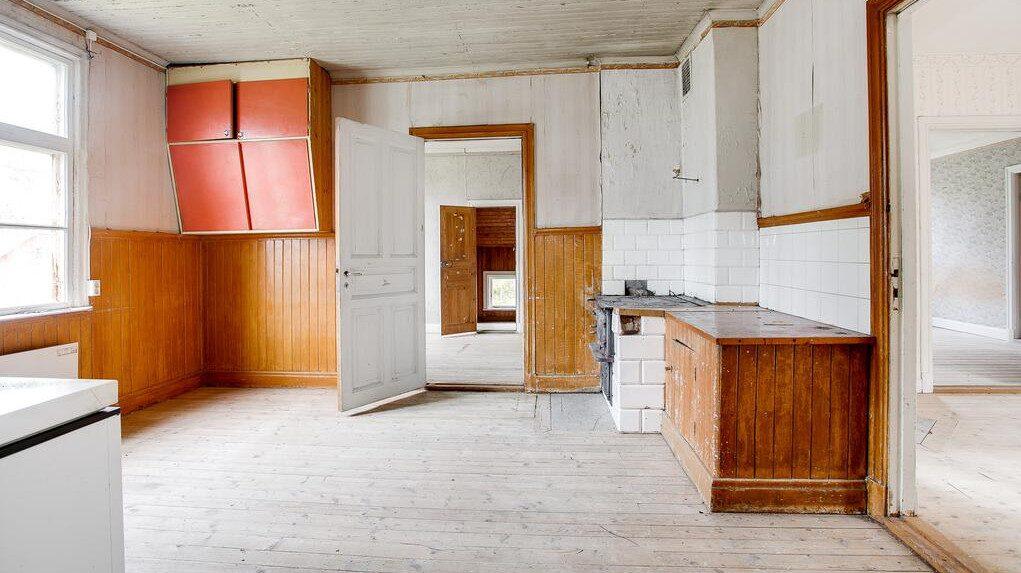 Husets kök.