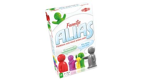 Alias går ut på att förklara ord med andra ord.
