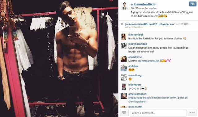 Eric Saade avslöjar: Jag är ganska singel | Extra