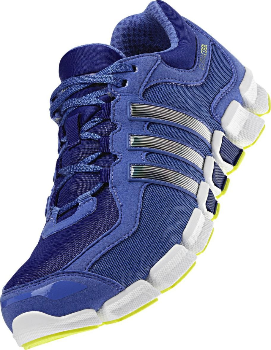 Climacool Freshride, Adidas. Lätt löparsko med ordentlig ventilation som ska hålla fötterna svala. Sulan ska vara smidig och följa fotens naturliga rörelser. 1 300 kronor, www.teamsportia.se.