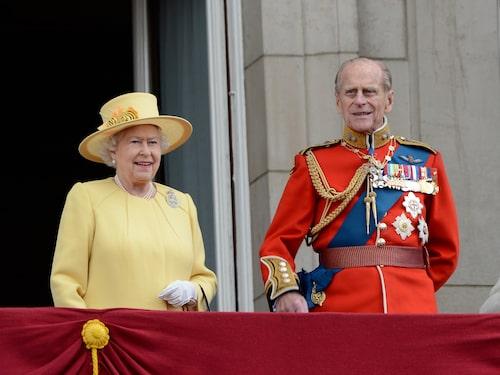 Drottning Elizabeth och prins Philip byter inte resväskor i onödan.