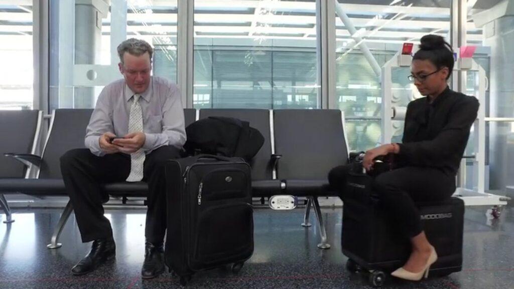 Snart behöver du inte släpa väskan genom flygplatsen längre...