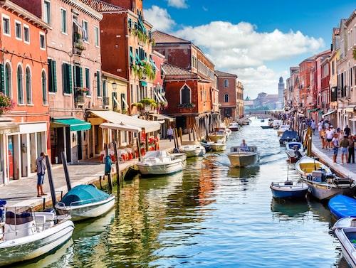 Venedig har en speciell atmosfär.