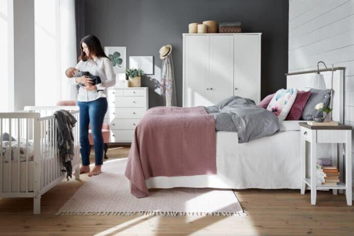 """""""Vad gäller sängar är vi i stort sett lika stora som Ikea, enligt en undersökning från 2016. Så vi ligger redan före vår plan"""", säger Mios vd Björn Lindblad."""