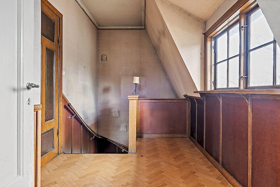 Hallen på övre våningen.