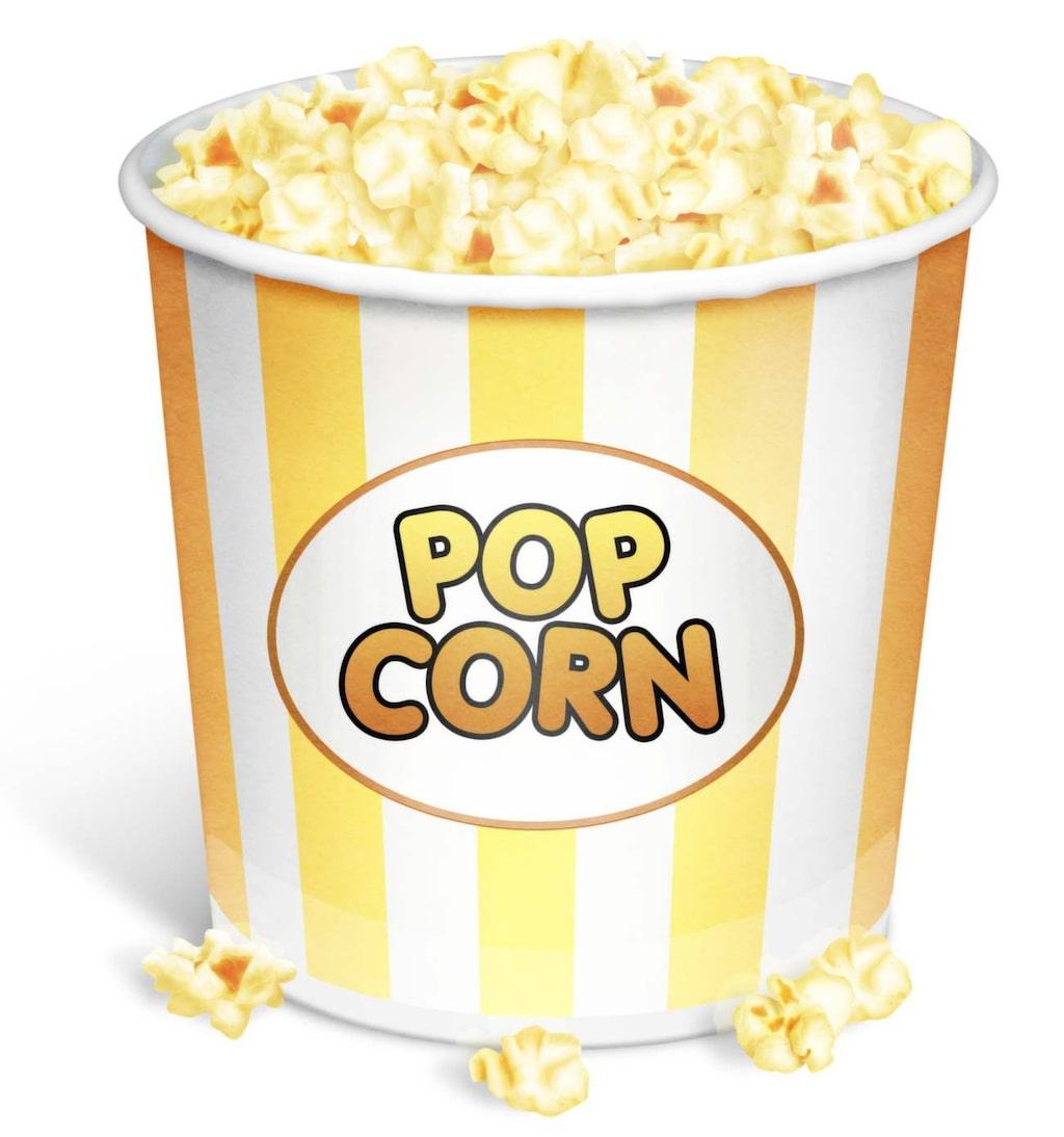 …eller att tugga på popcornkärnor.