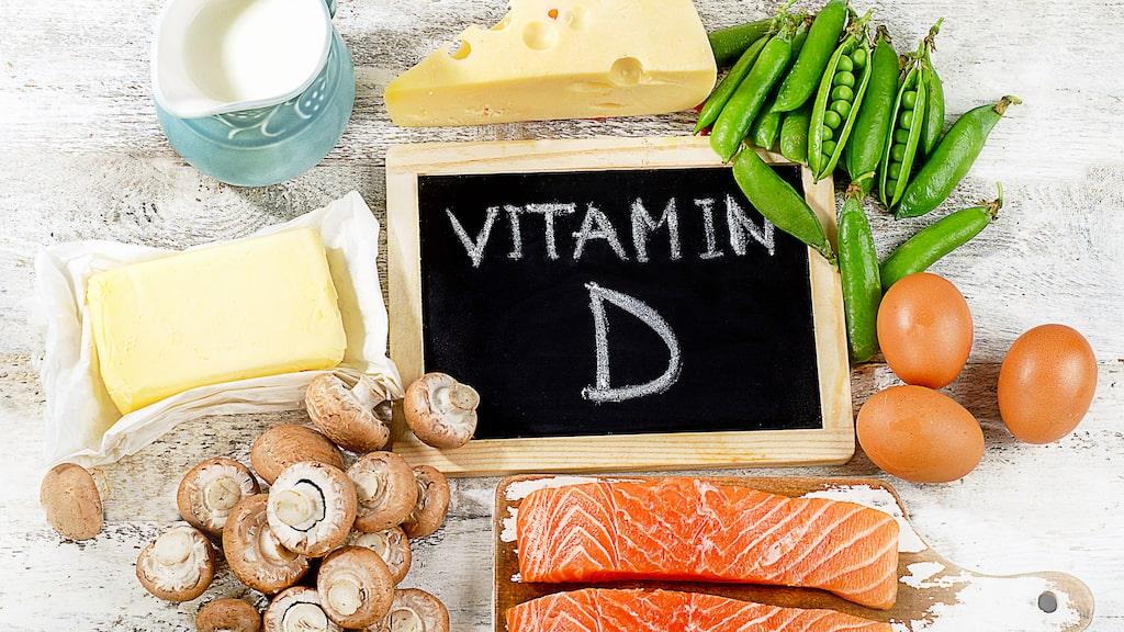 Mat rik på d-vitamin.