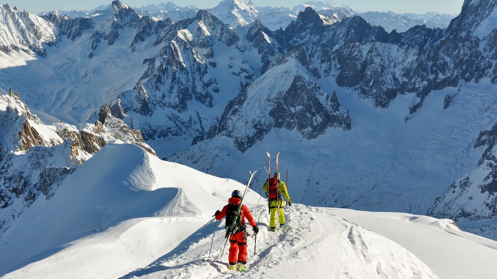 Chamonix i Frankrike är Europas flirtigaste skidort.