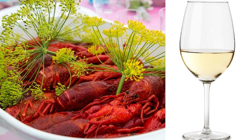 Gunilla Hultgren Karell ger dig tio tips på viner som lyfter kräftorna - och inte tvärtom.