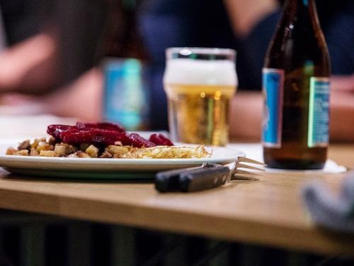 Lättöl är vanligt på olika lunchhak runtom i Sverige.